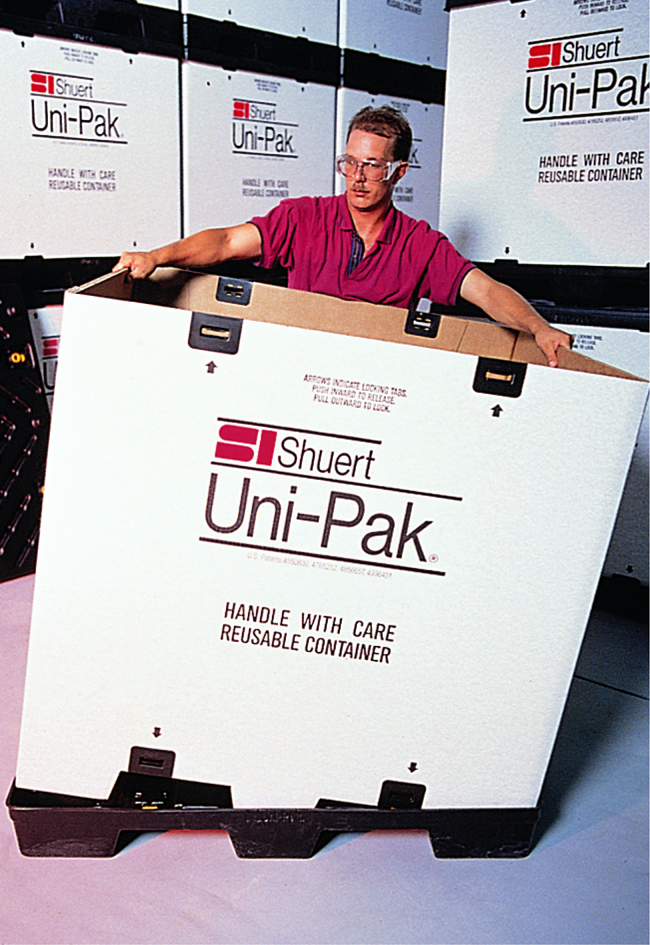 Uni Pak System Plastic Shipping And Storage Containers